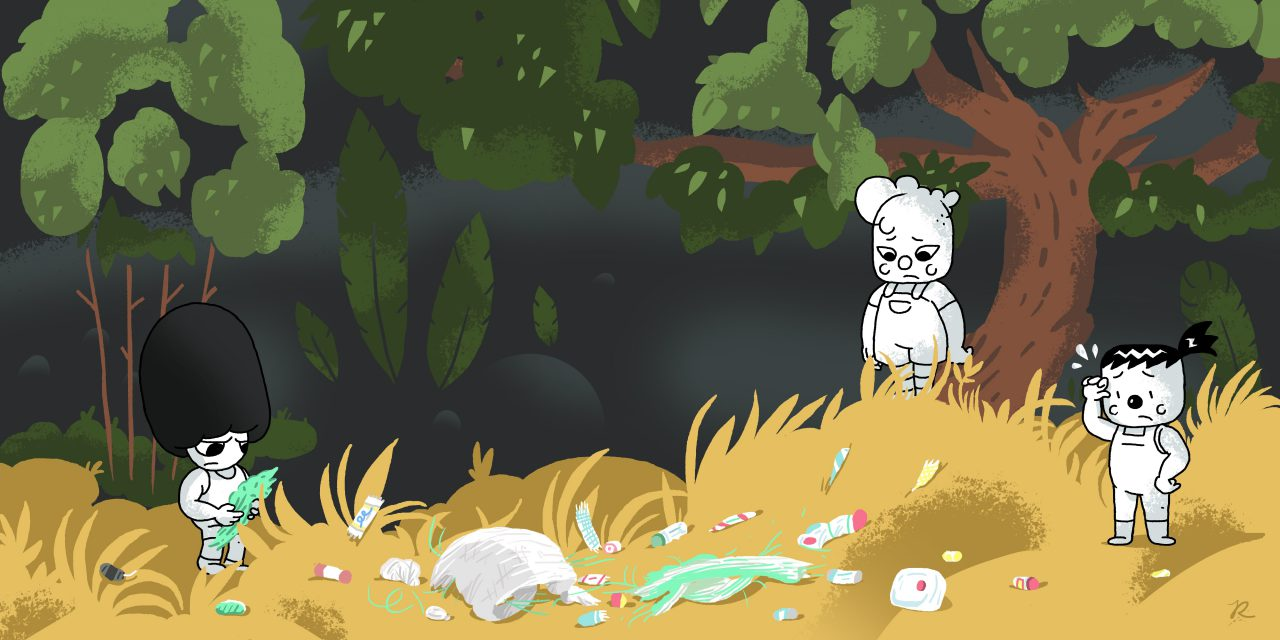 Ny miljøbevisst tegneserie med kvensk oversettelse