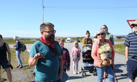 Bildeserie: Historisk vandring i Skallelv