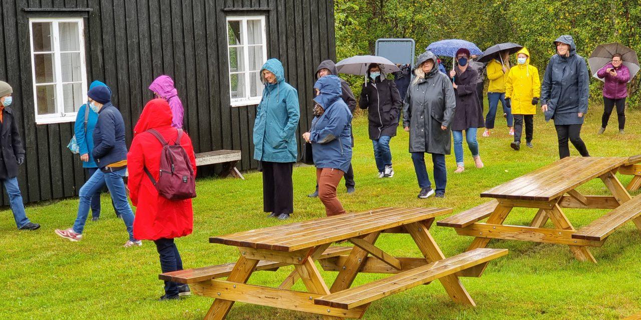 På utflukt til Sappenskogen: En våt dag i Tørfoss