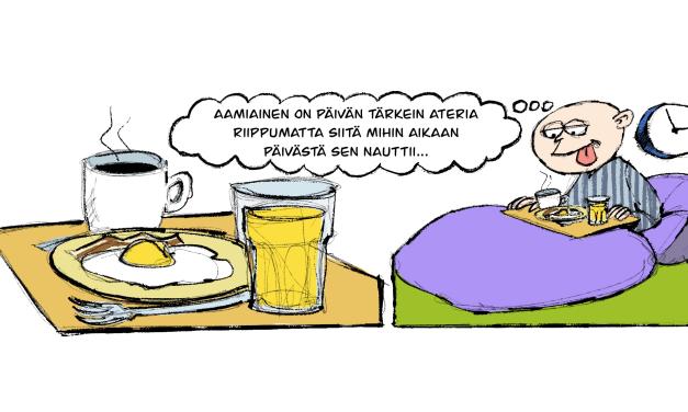 Kuvasarjoi ja vitsii • Tegneserier og vitser