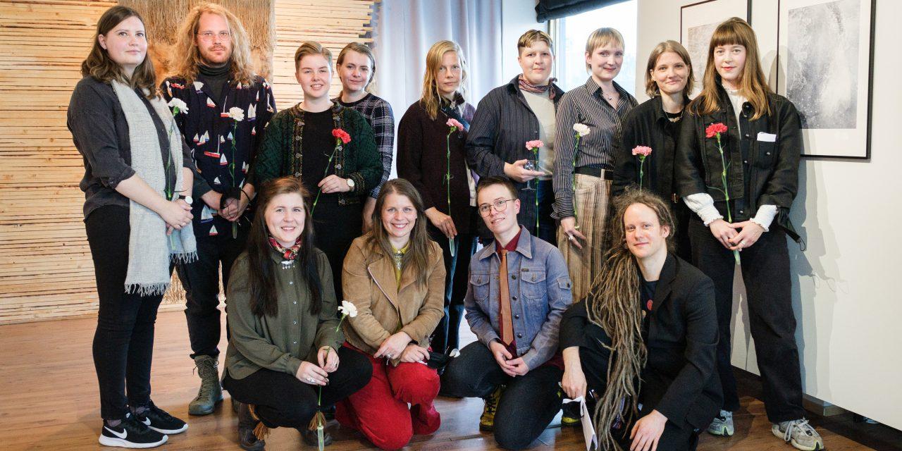 Kjemp, flykt, frys: Unge artister møtes nordpå